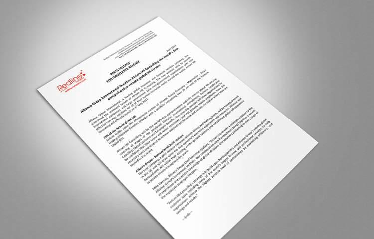 Atrium HR Press Release