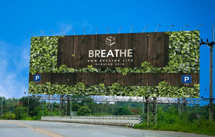 Breathe_Billboard_Redline Comapny