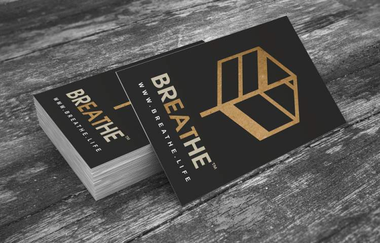 Breathe_Business Cards_Redline Company