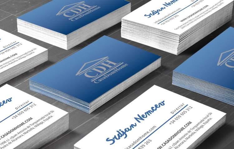 Casa Dom Home Business Card