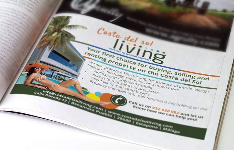 Costa del sol Living Advert
