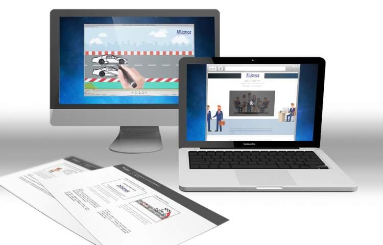 Alliance training video storyboards