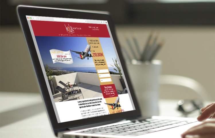 Hola-property_Landing_Page_Redline_Company