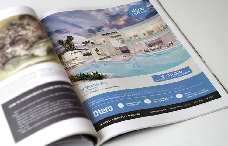 Otero_MagazineAdvert_Redline_Company