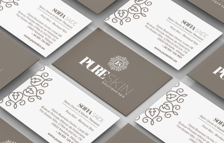 PureSkin_businesscard_redlinecompany