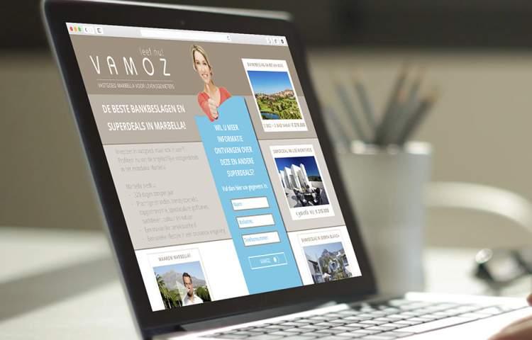 Vamoz_Landing-Page_Redline_company