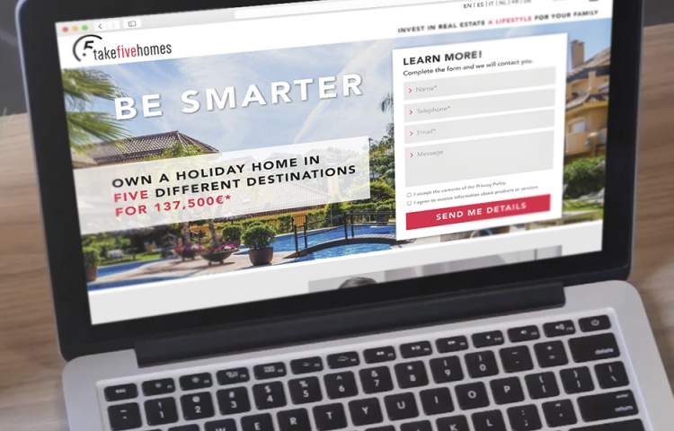 takefivehomes_Landing-page_Redline_Company