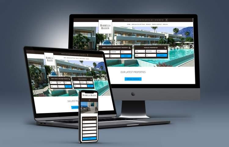 marbella Maison Website