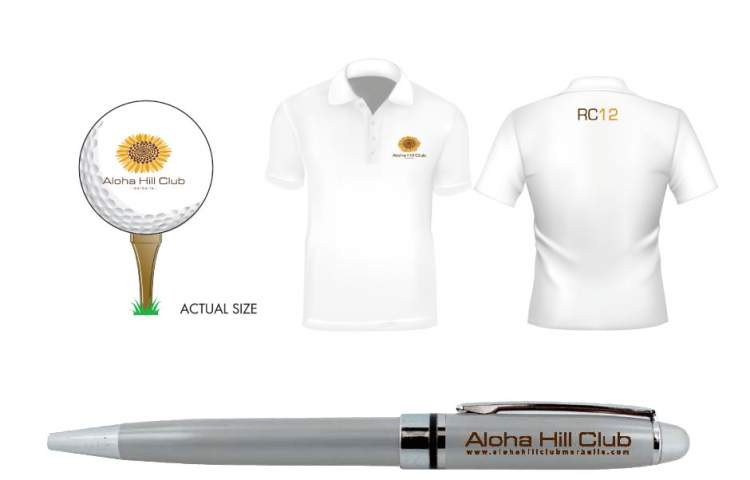 Aloha-Hill-club merchandize