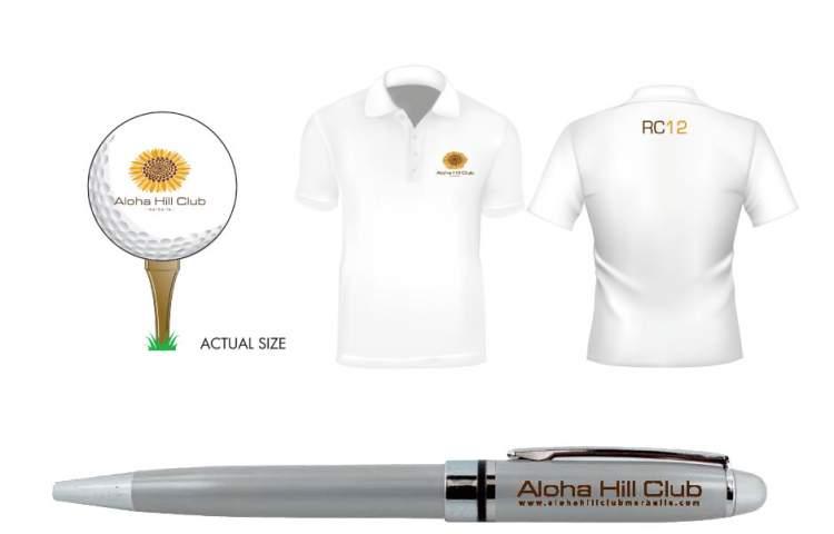 Aloha-Hill-club merchandize
