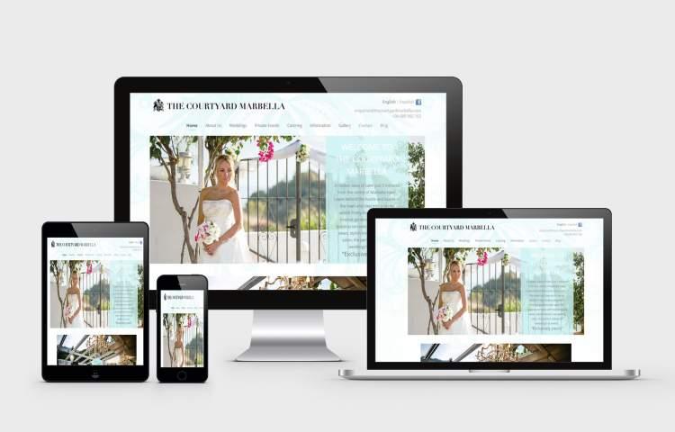 Courtyard marbella website
