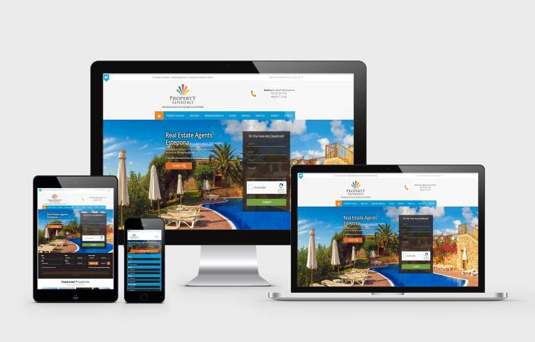 Property Experience group website