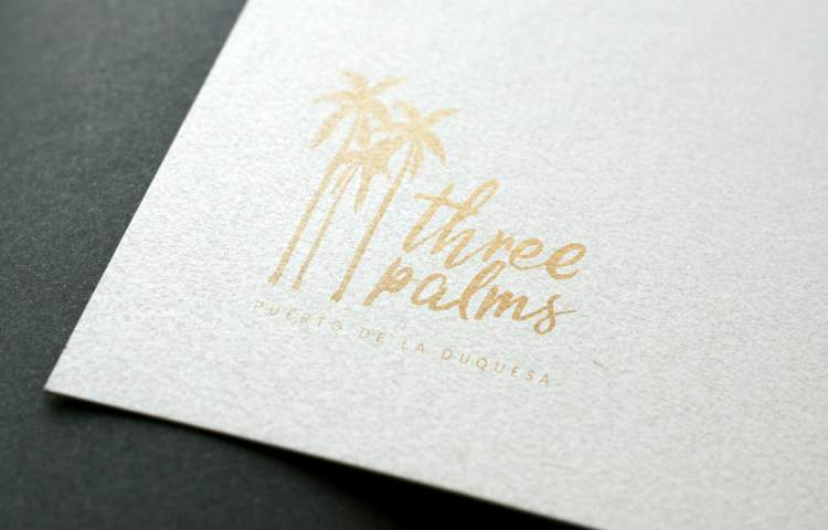Three plams Logo