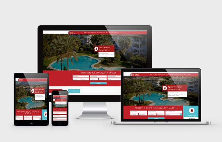 Bamboo Property Group website