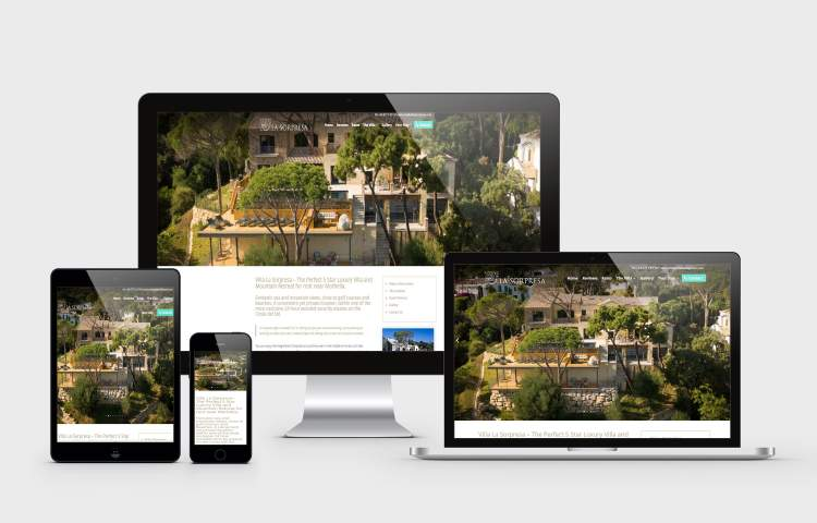 Villa La Sorpresa website