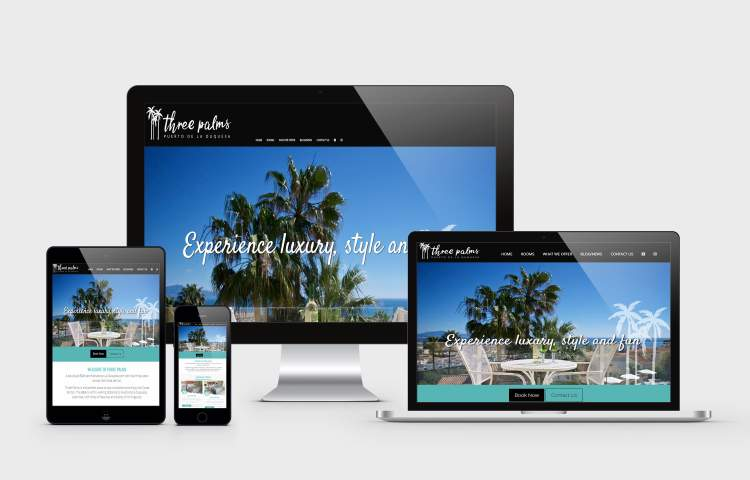 Three palms Website