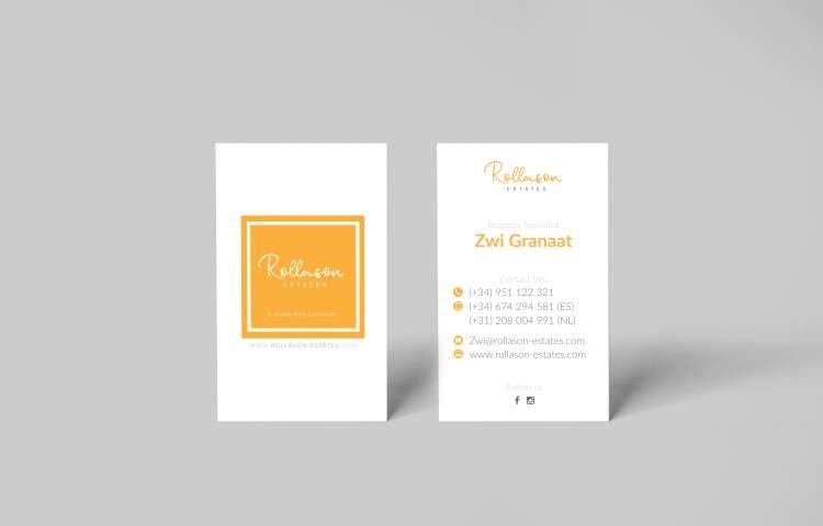 Rollason Estates Business Card