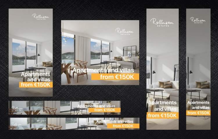 Rollason Estates Window Card