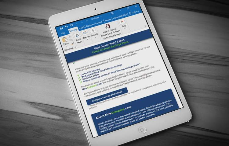 NowCompare_Email_Marketing_Redline_Company