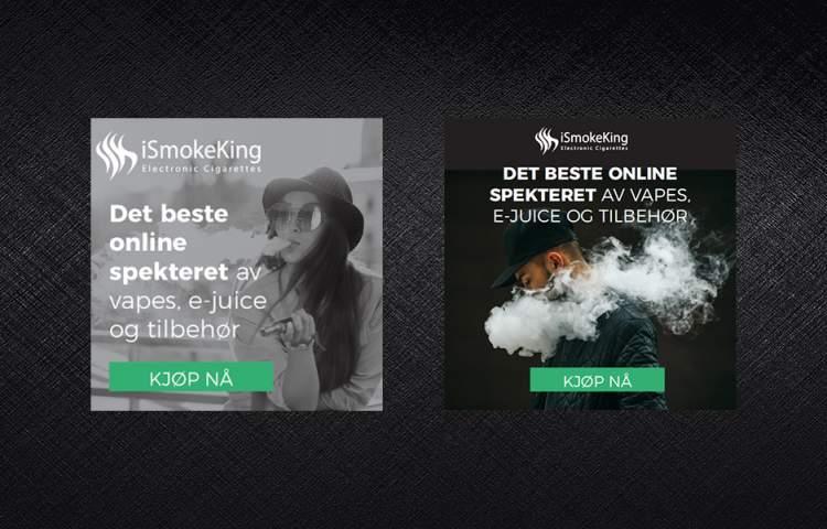 Ismokeking display ads