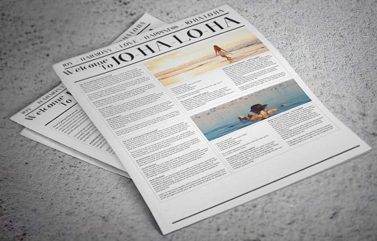 Johaloha_Newsletter_Redline_Company